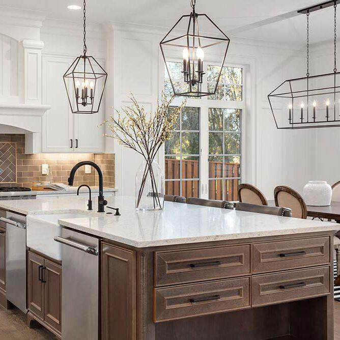 équipements de cuisine en marbre pour sa cuisine
